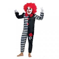 Τρομαχτικός Κλόουν Αυτό στολή για αγόρια
