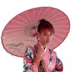 Ομπρέλα  Κινέζας σε τρία χρώματα