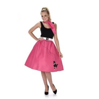 50s στολή ενηλίκων φούστα και φουλάρι 5f00459c2d0