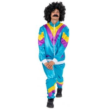 Αποκριάτικη Στολή Ενηλίκων 80'S Shell Suit One Size