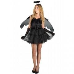Μαύρος Άγγελος γυναικεία στολή ενηλίκων