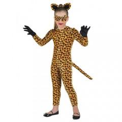Τίγρης στολή για κορίτσια με ολόσωμη φόρμα