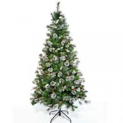 Δέντρο Maryland 240cm με πευκοβελόνα και κουκουνάρι