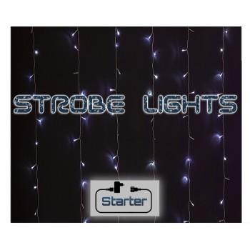 200Led-(IP44)Starter Set Κουρτίνα Strobe