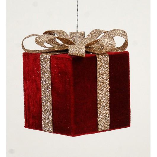 Kρεμαστό στολίδι χριστουγεννίατικο δώρο 10cm